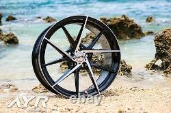 18 Wheels Alloy Flow Form Forged Lightweight Ayr 03 Vf 5x112 For Mercedes 2