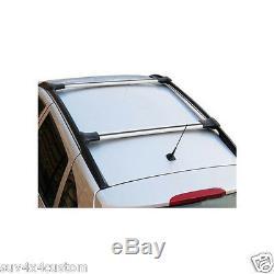 2 Transverse Roof Bars In Alu Brush Mercedes Vito / Viano W639 And W447