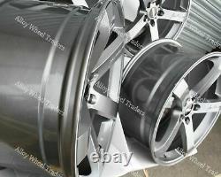20 Grey Blade Alloy Wheels For Mercedes V Vaneo Viano Vito W638 W639