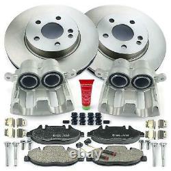 2x Caliper + Brake Discs + Brake Pads Mercedes-benz Viano Vito W639