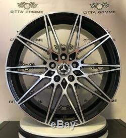 4 Alloy Wheels Mercedes Class A B C E Cla Gla Glc Gle Vito Viano 18