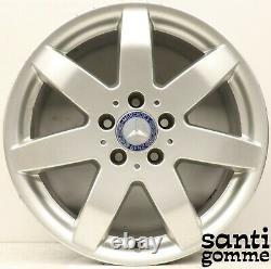 4 Alloy Wheels Mercedes Vito Viano ML 7.5 X 17 Original Used A1644014502