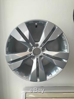 4 Alloy Wheels Mercedes Vito Viano Polo Marco 7x17 Wsp Italy Silver W767