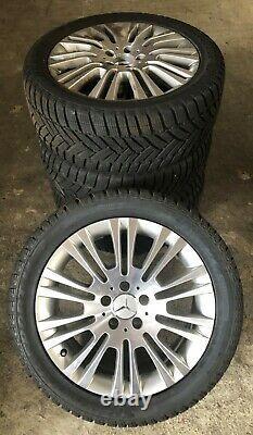 4 Original Mercedes-benz Winter 245/45 R18 100v Vito Viano A6394012602 5757