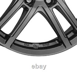 4 Rims Dezent Tz Graphite 7.5jx17 5x112 For Mercedes Benz M Viano Vito