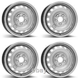 4 Steel Sheet Rims Alcar 9897 6.5x16 Et60 5x112 For Mercedes Benz Viano Vit