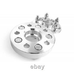 4pcs 20mm 5x112 Pcd Pathway Spacers M14x1.5 66.6mm For Mercedes Benz Audi