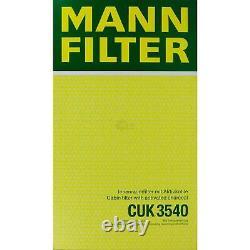 5x Mann Filter Filter On Mannol Cabin Air Filter Mercedes-benz Vito / Mixto