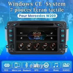 7autoradio For Mercedes-benz C/clk/g Class W203 W209 Vito Viano Dab+dvd Gps Bt