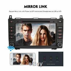 7dab + Car Stereo Android 9.0 Mercedes A / B Class Vito Sprinter Vianovito W169 W639