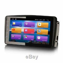8 Android 9.0 Wifi Gps Satnav Dab Stereo Radio Bt For Mercedes Viano Vito