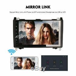 9 Android 9.0 4g Car Obd Mercedes A / B Class W169 W245 Vito Viano Sprinter