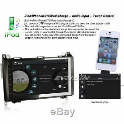 9 Bluetooth Car Radio Tnt Usb Dvr Mercedes A / B Class Viano Vito Sprinter