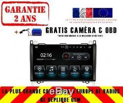 9 DVD Gps Navi Android 8.0 4gb Dab Wifi Mercedes Benz Viano / Vito W639 9022
