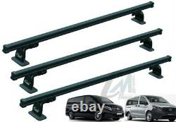 9413 Pre-assembled Mercedes Viano 03 Professional Roof Bars