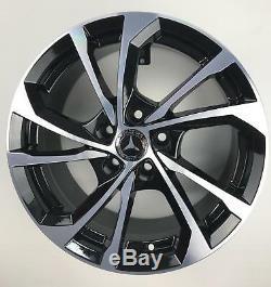 Alloy Wheels Mercedes Class A B C And E Cla Gla Offer 16 Esse5