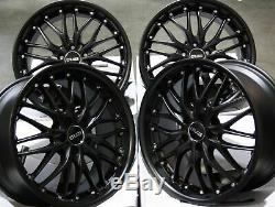 Alloy Wheels X4 18 M Black 190 For Mercedes R Class W163 W164 W166 W251
