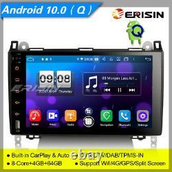Android 10 Mercedes Benz Autoradio W639 Viano W169 W245 Carplay Dab-tpms 9 8792