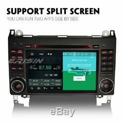 Android 8.0 Dab + Car Radio Mercedes Benz A / B W169 Class Sprinter Vito Viano Obd