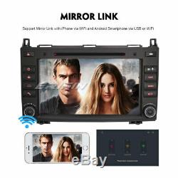 Android 8.1 CD Car Radio Dab + Gps Mercedes-benz A / B Class Viano Vito Obd Sprinter