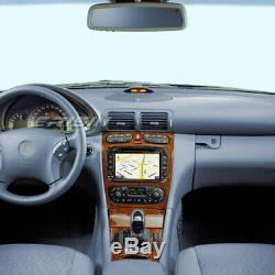 Android 9.0 CD Car Mercedes Benz C / Clk / W203 W209 G Class Viano Vito Dab + Bt