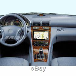 Android 9.0 Gps Car Dab + Mercedes C / Clk / G Class W203 W209 Vito Viano Tnt 4g