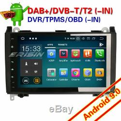 Android 9.0 Px5 Dab + 9autoradio Mercedes Benz A Class B Vito Viano Gps Dvr 7901