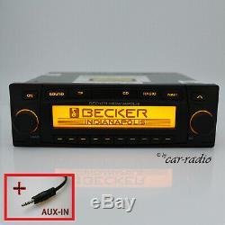Becker Indianapolis Be7920 Mp3 Navigation System Aux-in Jack Car Jack