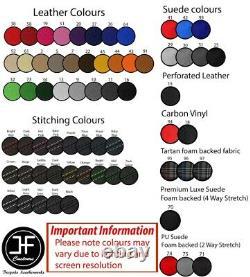 Beige Surpiq Borderboard Leather Cover For Mercedes Vito Viano W639 4-13