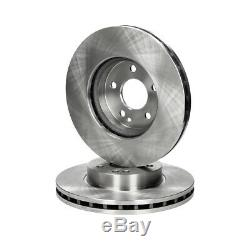 Brake Discs 4x + 8x Platelets Rear Mercedes-benz Vian Vito W639