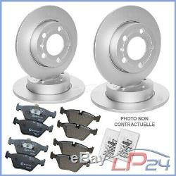Brake Kit Front + Rear Mercedes Viano Vito W639 W639
