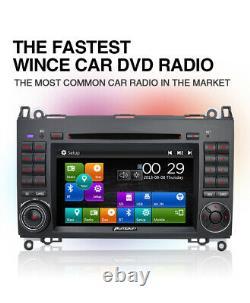 Camera+ Gps Radio Navi DVD For Mercedes Benz Viano Vito A B Class W639 W169