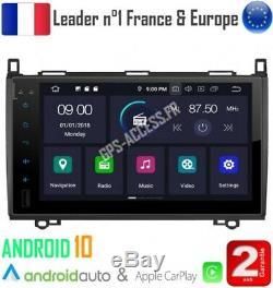 Car 9 Screen Android Gps 10 Mercedes A Class B Vito Viano Sprinter & Vw C