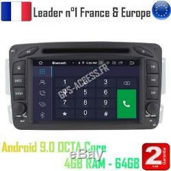 Car Gps Android 10 Mercedes G Class C Class Clk Viano Vito