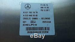 Contact Msg Door Handle Remote Mercedes Vito 113 CDI W639 6511501879