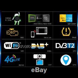Dab + Android 8.1 Gps Car Radio Mercedes A / B Class W169 W245 Sprinter Viano Vito