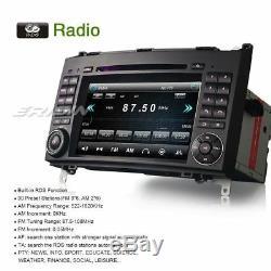 Dab + Autoradio Navi Gps Tnt CD Mercedes A / B Class W169 W245 Sprinter Vito Viano