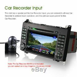 Dab + Car DVD Bluetooth Gps Mercedes A / B Class W169 W245 Sprinter Vito Viano