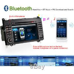 Dab + Car Radio Bluetooth CD Gps Mercedes A / B Class W169 W245 Sprinter Vito Viano