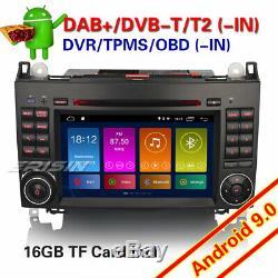 Dab + Car Radio Class A / B Vito Sprinter Viano Vito W169 7android 9.0