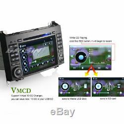 Dab + Gps Bluetooth CD Mercedes A / B Class W169 W245 Vito Viano Sprinter