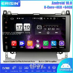 Dab-android 10.0 8-core Autoradio Dsp Gps Mercedes Benz A/b Class Viano Crafter