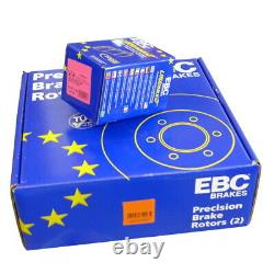 Ebc B01 Rear Brake Kit Disc Coatings For Mercedes-benz Viano