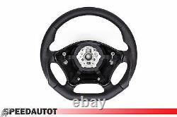 Flat Exchange Black Leather Steering Wheel Mercedes Vito/viano W639