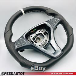 Flattened Steering Wheel W447 Mercedes Vito And Viano. Cla W117, C W205, W156 Gla