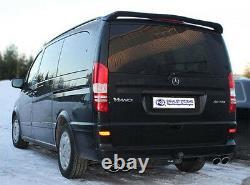 Fox Escape Sport Mercedes Vito Viano W639 With Air Chassis
