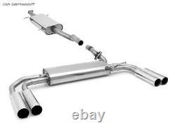 Fox Inox System Duplex Mercedes Vito - Viano W639 V639 Long Each 2x80mm Long