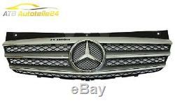 Grille Mercedes Vito Viano W639 Silver Bright Chrome Facelift
