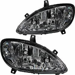 Headlights Kit Right And Left Mercedes Viano Vito W639 Year Mfr. 03-10 H7 + H7 + H7
