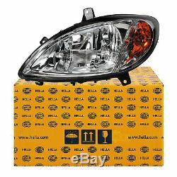 Hella Headlight Left Mercedes Viano Vito W639 Year Mfr. 03-10 H7 / H7 + Engine